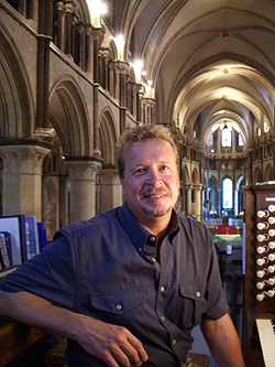 Jurgen Petrenko at Canterbury Cathedral